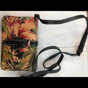 Patricia Nash crossbody floral bag